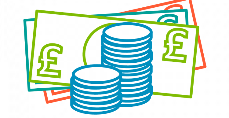 Cash graphic
