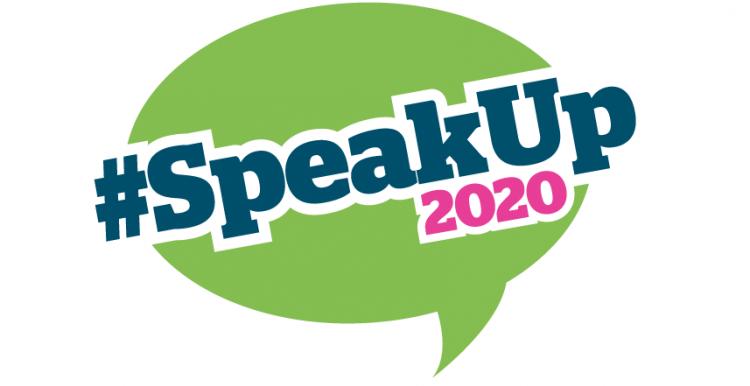#SpeakOut2020 logo