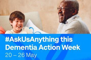 Dementia Action Week banner