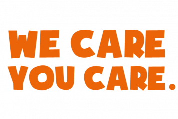 We Care You Care logo