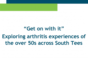 Arthritis report front cover