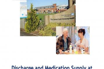 Discharge and Medication Report Front Cover