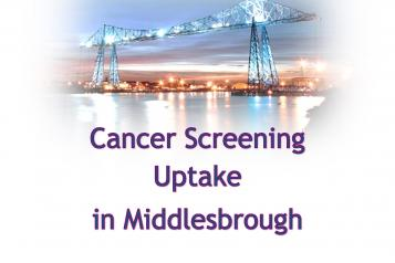 Cancer Screening Report front cover