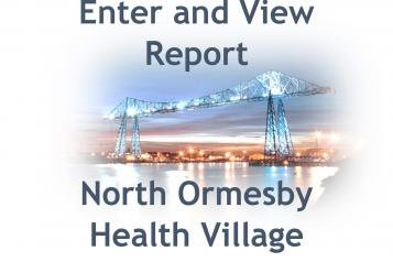 North Ormesby Health Village Sexual Health Clinic front cover