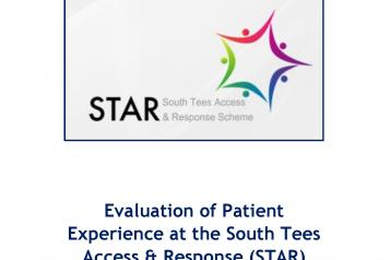 STAR Scheme Report Front Cover