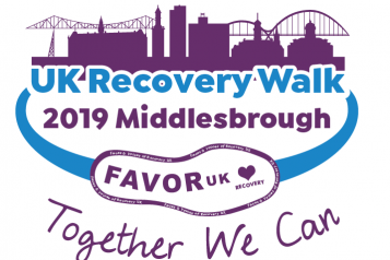 Middlesbrough Recovery Walk logo