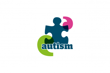 Jigsaw piece with the word 'autism