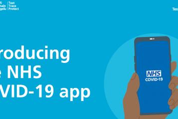 NHS App advert