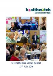 Strengthening Voices report front cover
