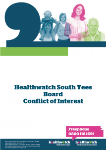 Conflict of Interest Front Cover