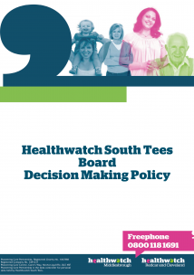 Decision Making Policy front cover