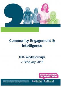 U3A Report February 2018
